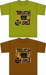 TOUCH THE SKY Tシャツ表